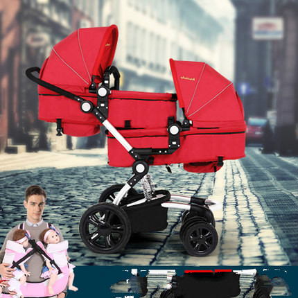12-gift-The-twins-high-landscape-The-font-b-stroller-b-font-Can-sit-can-lie.jpg