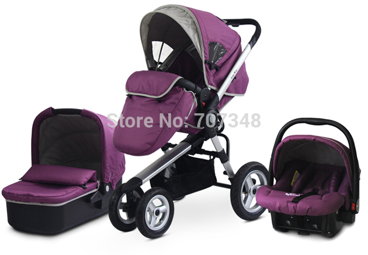 Car Seat And Stroller Set For Girls - Seat