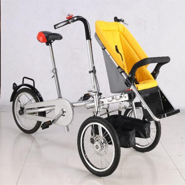 Yellow-Bebe-font-b-Strollers-b-font-16inch-Mother-font-b-Baby-b-font-Bike-font.jpg
