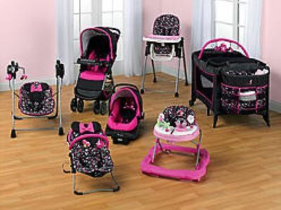 New 7 Piece Set Minnie Mouse Stroller Car Sea 171 Best Baby