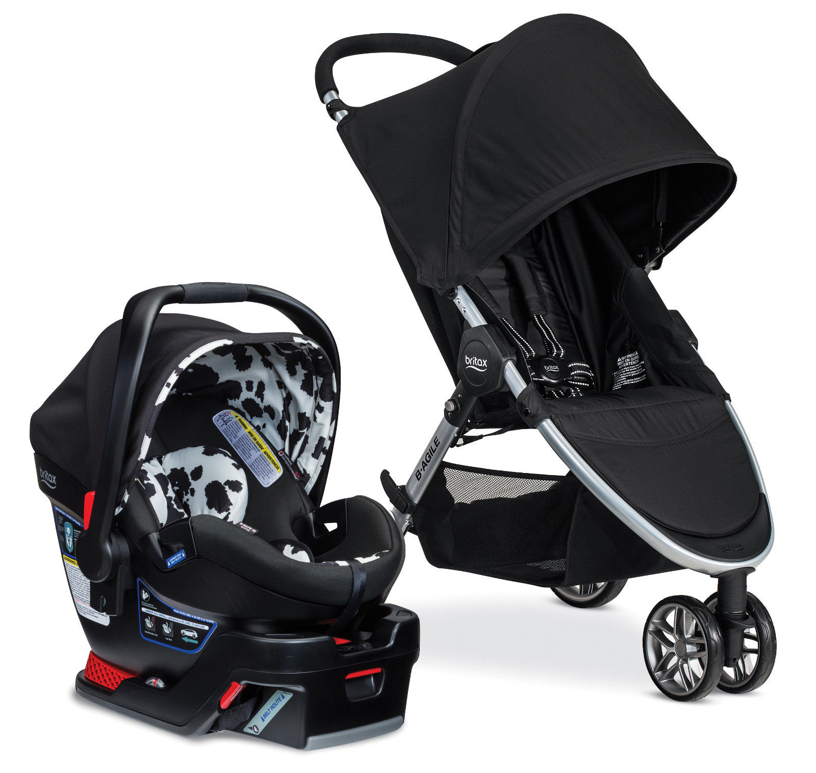 Britax B Agile Travel System Black