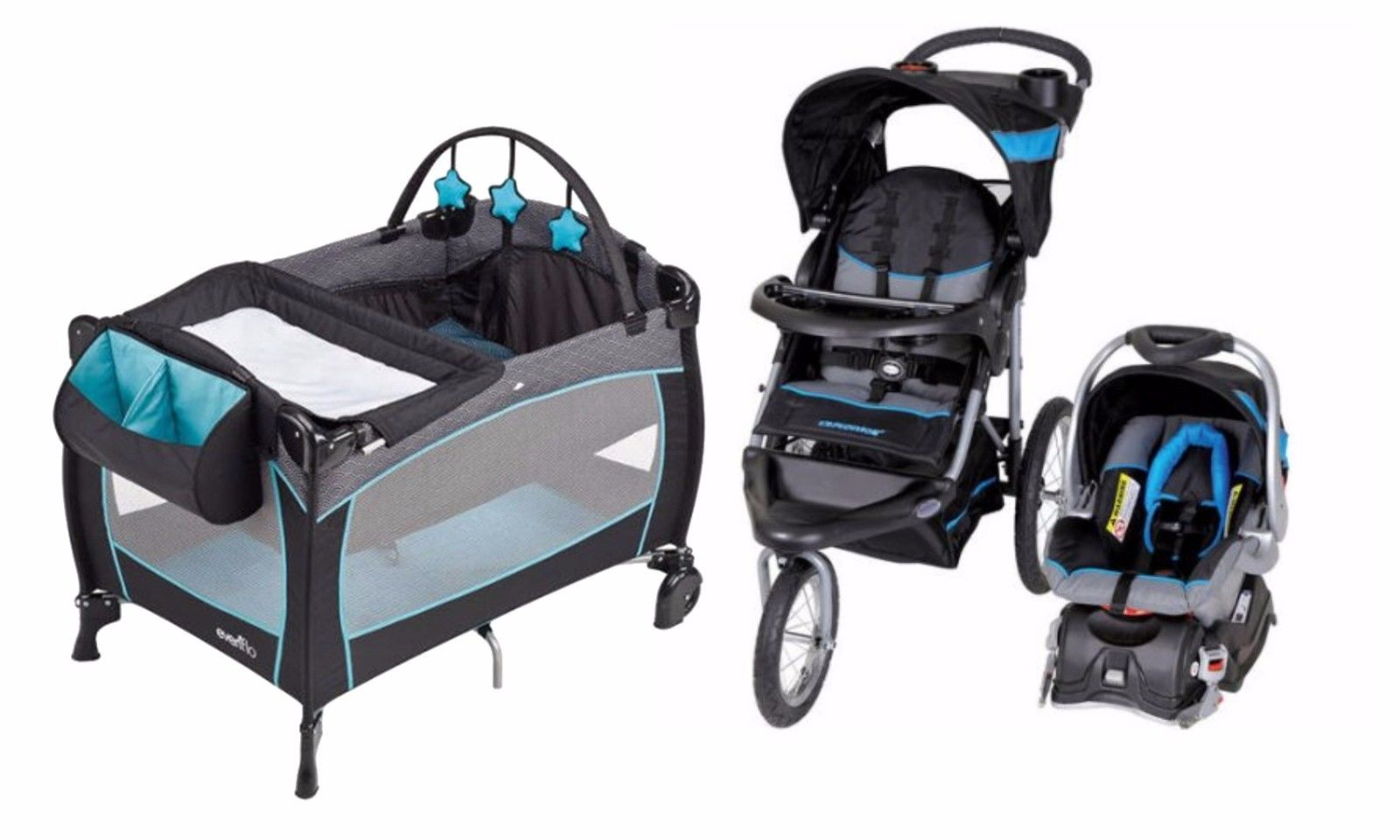 Baby Trend Jogger Stroller With Car Seat Nurs 171 Best Baby